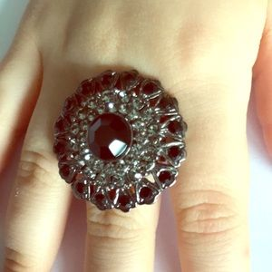 Jewelry - French connection flower cocktail ring